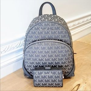 NWT Michael Kors Backpack & Bifold